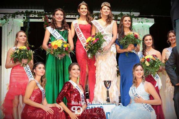 Miss Pays de l'Ain 2017 est Ophélie Constance