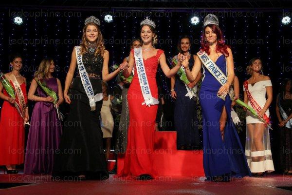Miss Pays de Savoie 2017 est Marie Martin