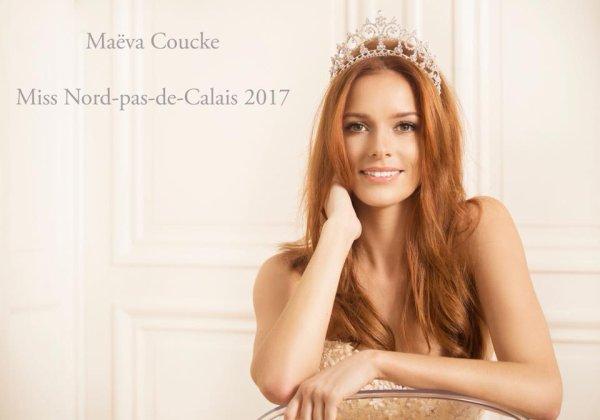 Maëva Coucke, Miss Nord-Pas-de-Calais 2017