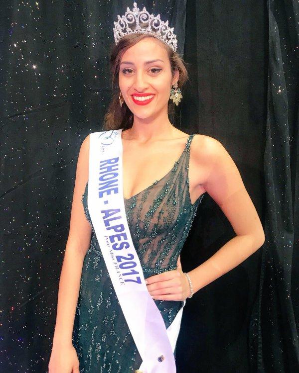 Miss Rhône-Alpes 2017 est Dalida Benaoudia