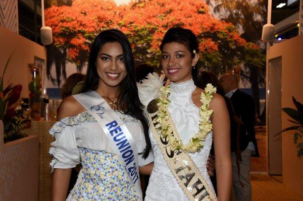 Miss Réunion, Miss Tahiti & Miss Mayotte