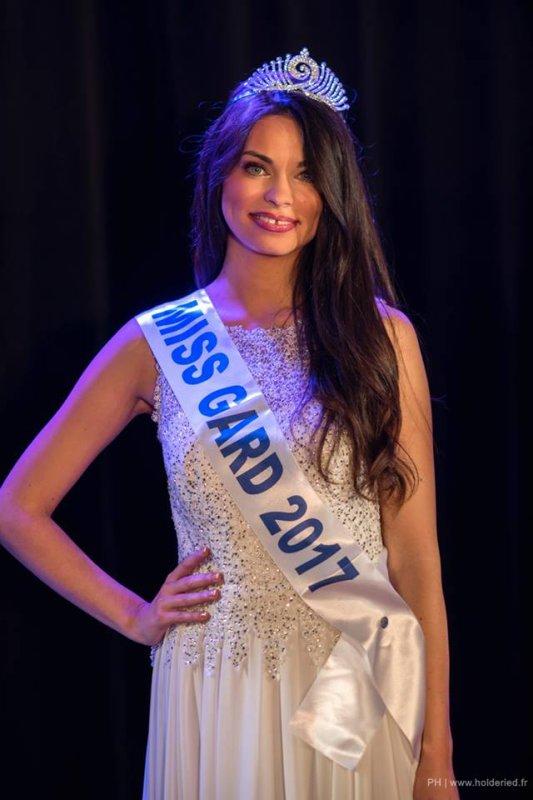 Miss Gard 2017 est Marie-Charlotte Porras