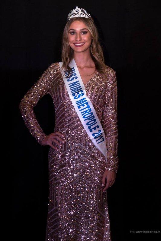 MissNîmes 2017 est Jennifer Tourel