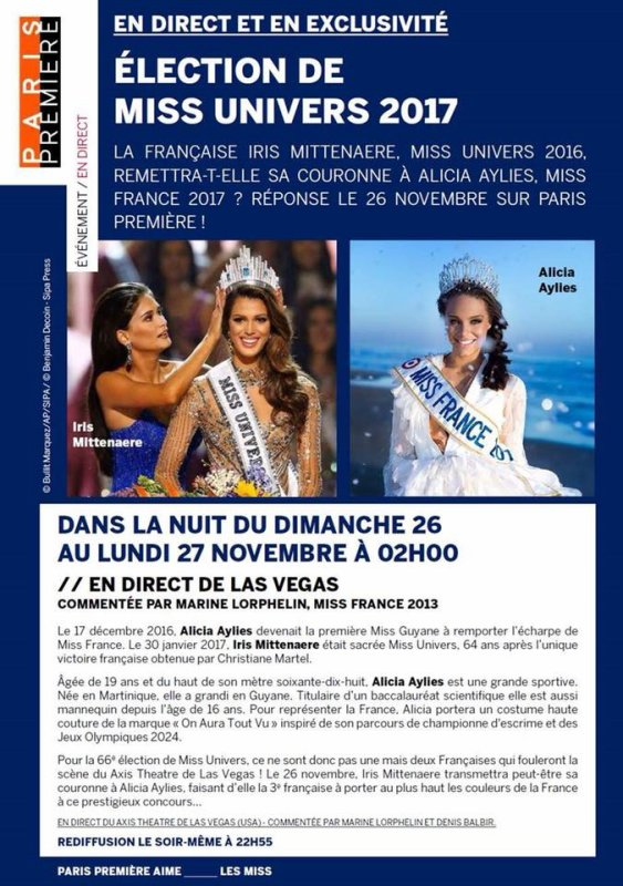 Election Miss Univers