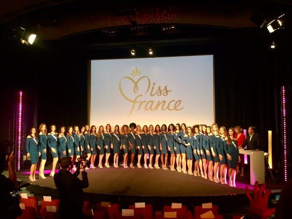 Conférence de presse - Miss France 2018