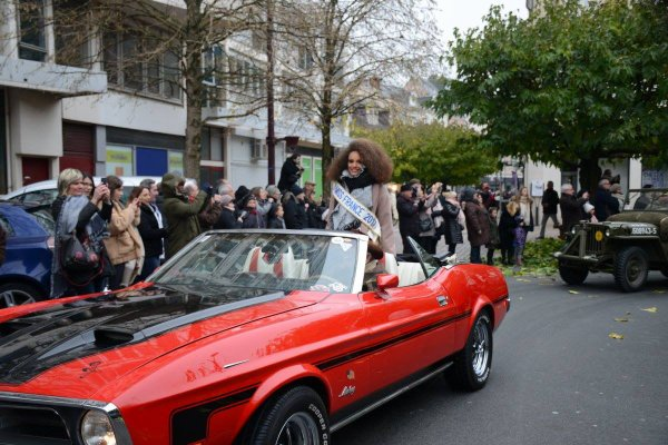 Grande parade des Miss