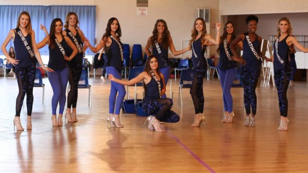 Répétitions Miss France 2018