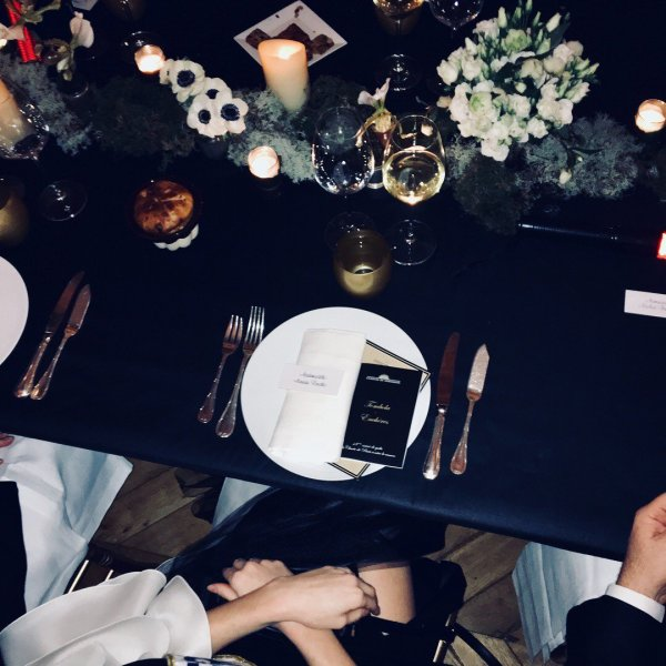 Maëva Coucke - 18ème soirée de gala de la Charte de Paris contre le Cancer