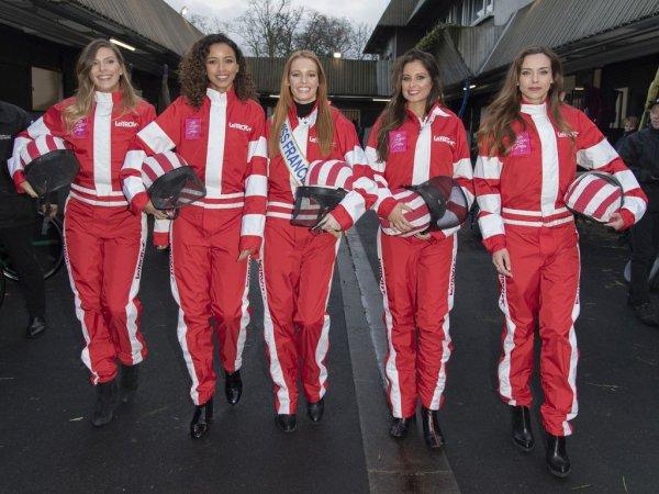 Maëva Coucke, Camille Cerf, Flora Coquerel, Marine Lorphelin & Malika Ménard - Grand Prix de France