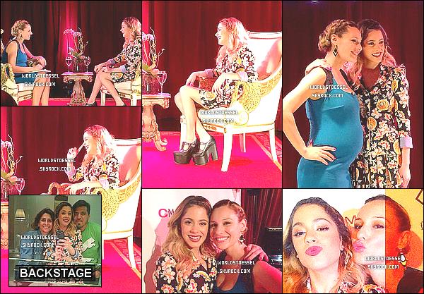 .                                                                                                                                                                                        21/08/14 : Tini Stoessel était interviewée par Pampita Ardohain à la #FTV à Buenos Aires, en Argentine.                                                                                                                                                                                      Toujours aussi souriante, Martina a optée d'une tenue de Benito Fernandez ! Pour moi c'est un BIG TOP, je n'ai rien à dire, et toi ?                                                                                                                                                                                          .