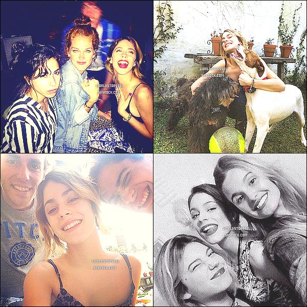 .                                                                                                                                                                                                    _'DIVERS'_ - Voici les dernières photos personnelles de Miss Stoessel, via différents réseaux sociaux                                                                                                                                                                               .