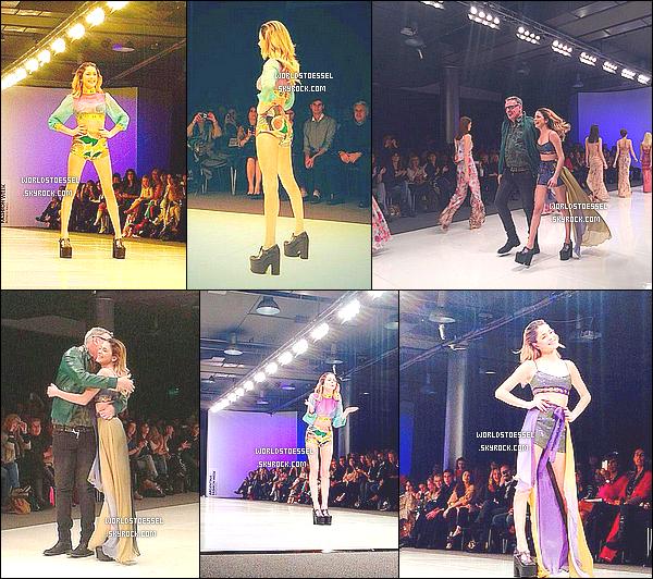 """.                                                                                                                                                                                          25/08/14 : Martina a défilé pour la nouvelle collection de Benito Fernandez, lors de la Fashion Week d'Argentine                                                                                                                                                                                          Je trouve que Tini est parfaite en tant que mannequin. La collection de Mr Fernandez, intitulé """"Reinas"""" est jolie je trouve. BOF pour moi.                                                                                                                                                                                       ."""