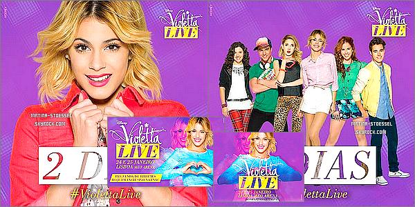 .                                                                                                                                                                                        Découvrez des nouvelles photos promotionnelles issues de la tournée ViolettaLive                                                                                                                                                                                        .