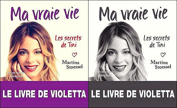 .                                                                                                                                                                                       LIVRE - La couverture du livre français de Martina'-<< Ma vraie vie - Les secrets de Tini- >> a été dévoilée !                                                                                                                                                                                           Après l'officialisation de ViolettaLive, les fans auront le livre SimplementeTini en France ! Découvrez les dates/concerts supplémentaires ici                                                                                                                                                                                        .