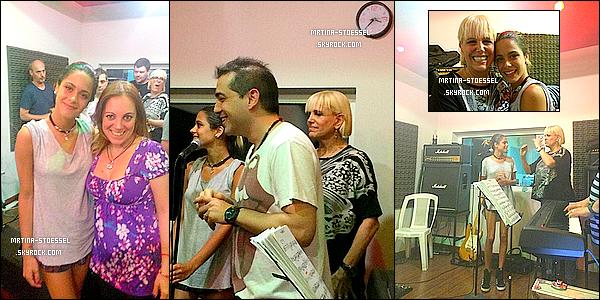 .                                                                                                                                                                                          23/10/14    : Tini a répété avec Valeria Lynch & son groupe pour leur show au Grand Rex, (Arg.) le 09/11.                                                                                                                                                                                     Ceci est un article flashback qui permet de compléter le blog avec des apparences, ou événements. Il sera placé à sa place dès que prévu.                                                                                                                                                                                         .