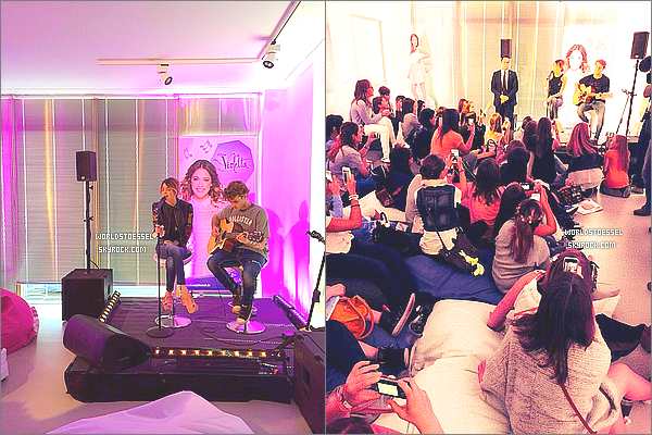 .                                                                                                                                                                                            04/09/14 : Martina Stoessel était à son showcase à Berlin (Allemagne).                                                                                                                                                                                            Toute souriante, Tini était vêtue d'un blouson en cuir de la boutique Paco Chico et d'un rouge à lèvres très pimpant ! BIG TOP, et toi ?                                                                                                                                                                                         .