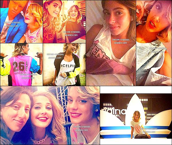 .                                                                                                                                                                                         Photos personnelles de Tini, lors du tournage de Violetta3 et pour AdidasArg                                                                                                                                                                                        .