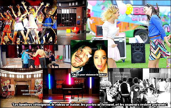 .                                                                                                                                                                                       La série Violetta nous laissera de bons souvenirs, voici les dernières photos...                                                                                                                                                                                       .
