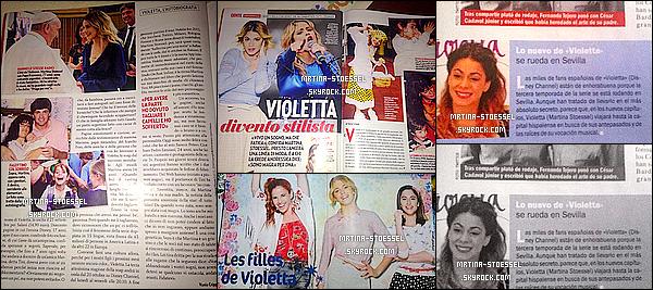.                                                                                                                                                                                      COULISSES - En exclusivité, quelques photos derrière le tournage de Violetta 3 : La nouvelle saison !                                                                                                                                                                                         En attendant l'actu' de Tini, découvrez les secrets de la série ! La saison 3 débarquera le lundi 13 octobre à 18h30 sur Disney Channel !                                                                                                                                                                                      .