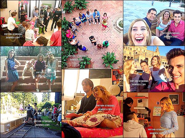 .                                                                                                                                                                                                         -VIOLETTA- -•  • -Des photos du tournage de la saison 3 sont apparues sur le net.                                                                                                                                                                        .