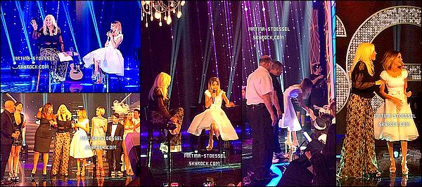 .                                                                                                                                                                                         17/12/14  : Tini Stoessel était comme prévue sur le plateau de l'émission de Susana Gimenez  - Argentine.                                                                                                                                                                                         Martina a dansé sur la chanson « End of Time » de Beyoncé avec des danseuses. Ensuite, elle a performé seule sur « Lo que Soy ». Top.                                                                                                                                                                                       .