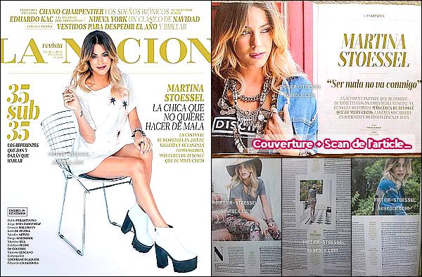 .                                                                                                                                                                                         Découvrez le photoshoot & l'interview de Tini S. pour la revue « La Nacion »                                                                                                                                                                                        .