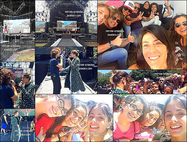 .                                                                                                                                                                                      21/12/14 : Martina S., Mechi & la troupe d'Aliados étaient présents à l' EcoFashionShow - à Palermo (B. Aires)                                                                                                                                                                                        Tini a donné plusieurs performances sur scène avec son chéri, seule et avec toute la troupe : Un Mundo Ideal - Solo - Heal The World. Gros Top !                                                                                                                                                                                      .