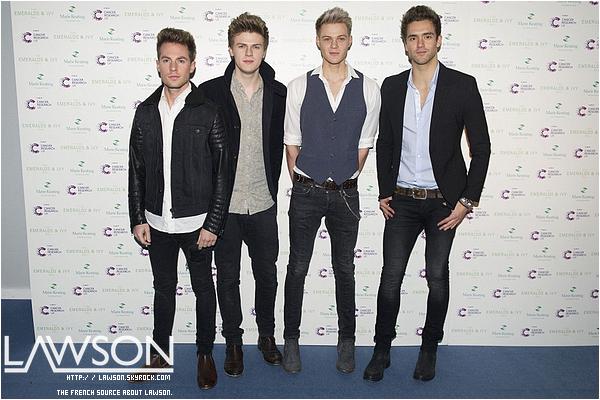 Le 30/11/2012 Le groupe Lawson était à l'émission d'Allan Carr: Chatty Man, pour chanter leur tube « Taking Over Me » ENJOY. !TOP : ✰✰✰✰✰