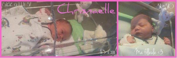 <3 Ma filleule Chrisnaelle