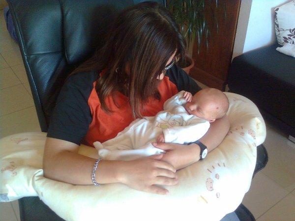 Moi et ma petite cousine <3