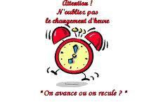 Attention ce week-end, l'heure change !
