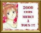 2000 merci pour vos 2000 com