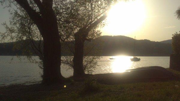 Lago Maggiore tramonto