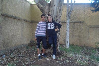 moi avec mon meilleur ami