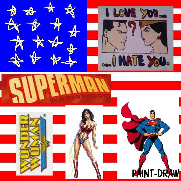 peinture n° 8:  S and WW.. in love?
