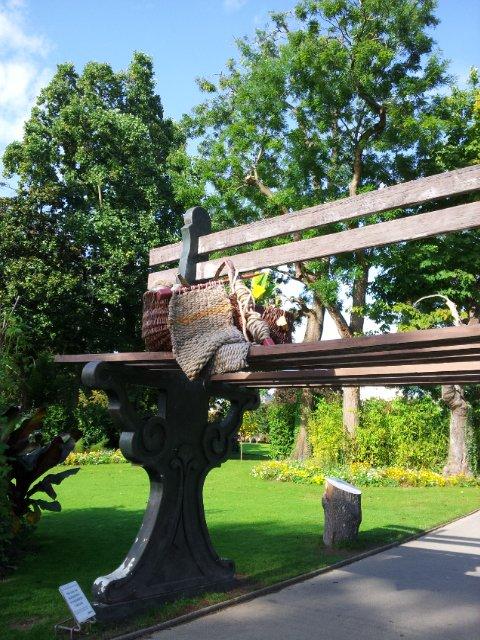 Ponti au jardin des Plantes à Nantes