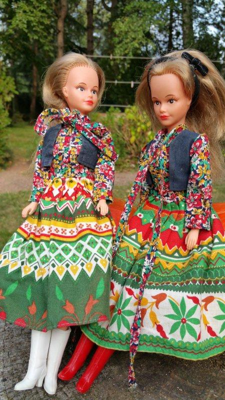 Tressy robes colorées
