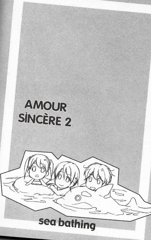 Amour sincére tome 2 chapitre 4