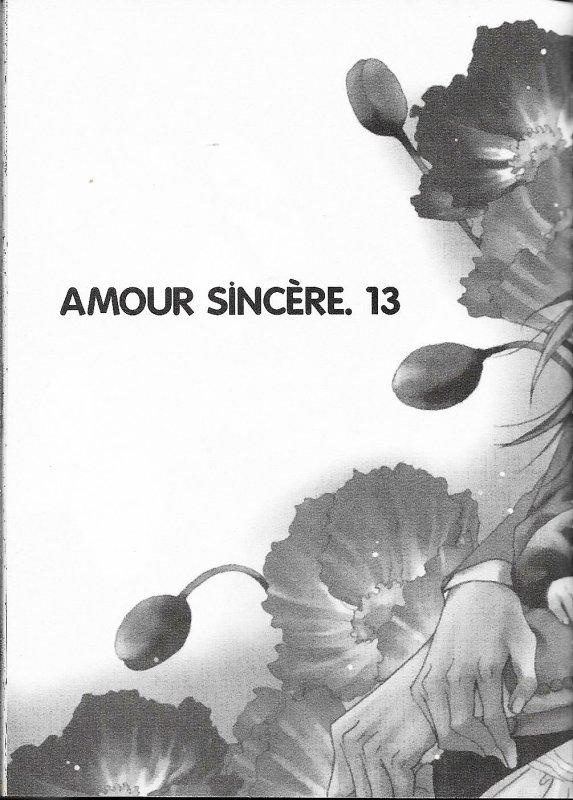 Amour sincére tome 2 chapitre 6