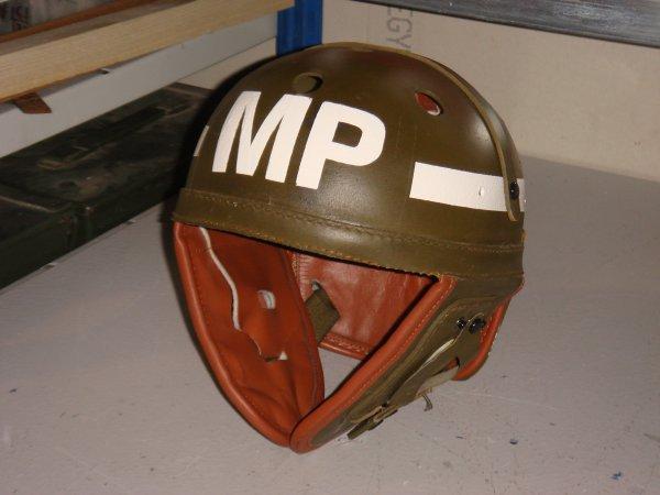 Casque tankiste : MILITARY POLICE ( Pour Alex ) ....