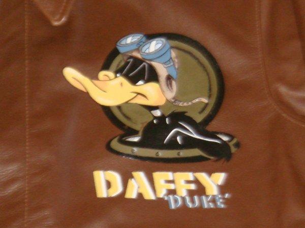Blouson cuir : DUFFY DUKE ( Pour David .... )