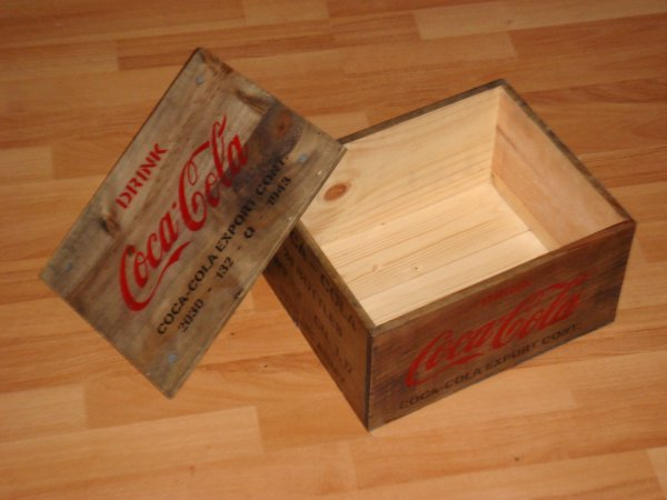 Caisse coca-cola ( type US WW2 ) ......