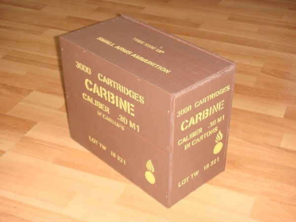 Caisse munitions US CAL 30 ( Commande ARNOWW2 ) ....