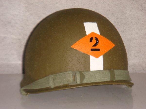 Casque - Cpt 2nd ranger ( Mise en vente sur E-Bay ) ....