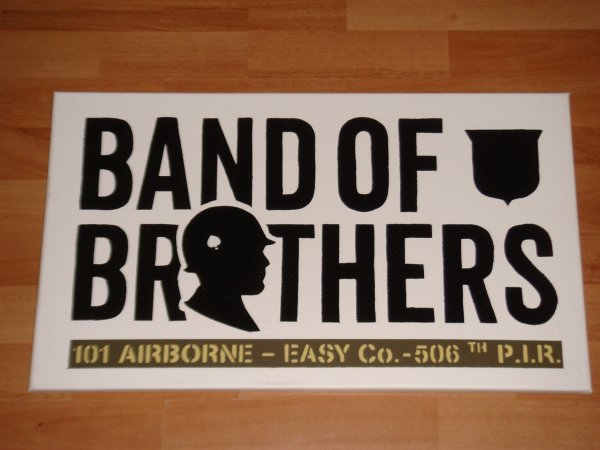 Panneau : BAND OF BROTHERS - 101 AB - Easy Co - 506th P.I.R