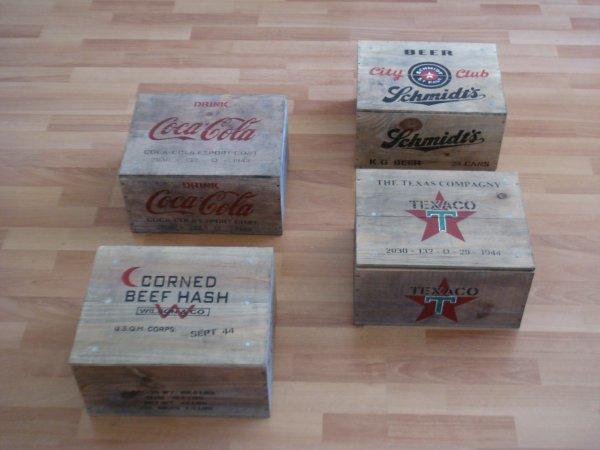 Quelques caisses ....