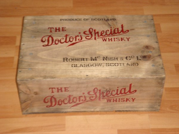 Caisse whisky - The Doctor Special ( Pour stépane ) ....