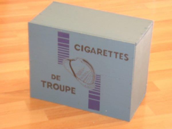 Caisse : Cigarettes de troupe 1940 ....