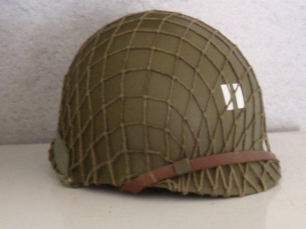 """A VENDRE : Casque 2nd ranger - Capt MILLER """" il faut sauver le soldat Ryan"""""""