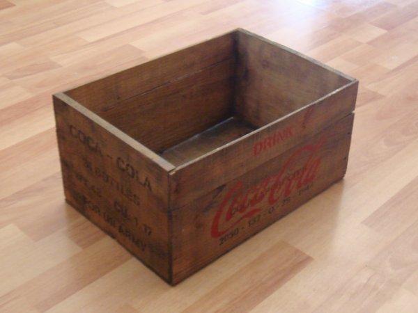 Caisse coca-cola type US WW2 ....